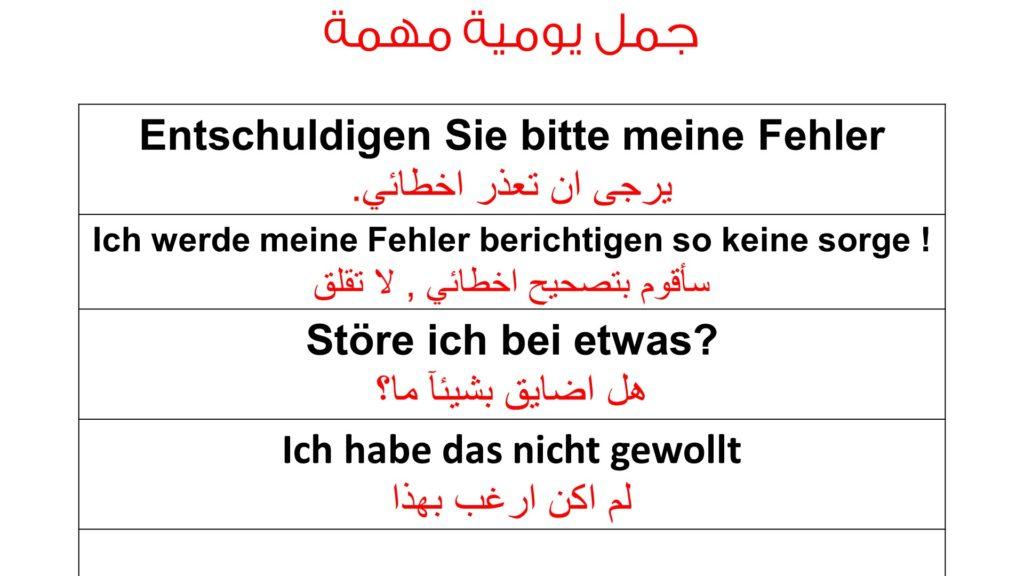 طرق متعددة للإعتذار باللغة الالمانية و يحبها الألمان