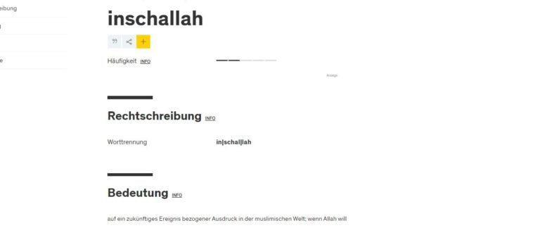 اضافة كلمة عربية غير متوقعة جديدة الى قواميس الألمان!