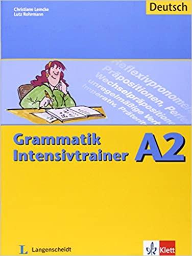 مدرب القواعد النحوية المكثف A2 pdf LANGENSCHEIDT GRAMMATIK
